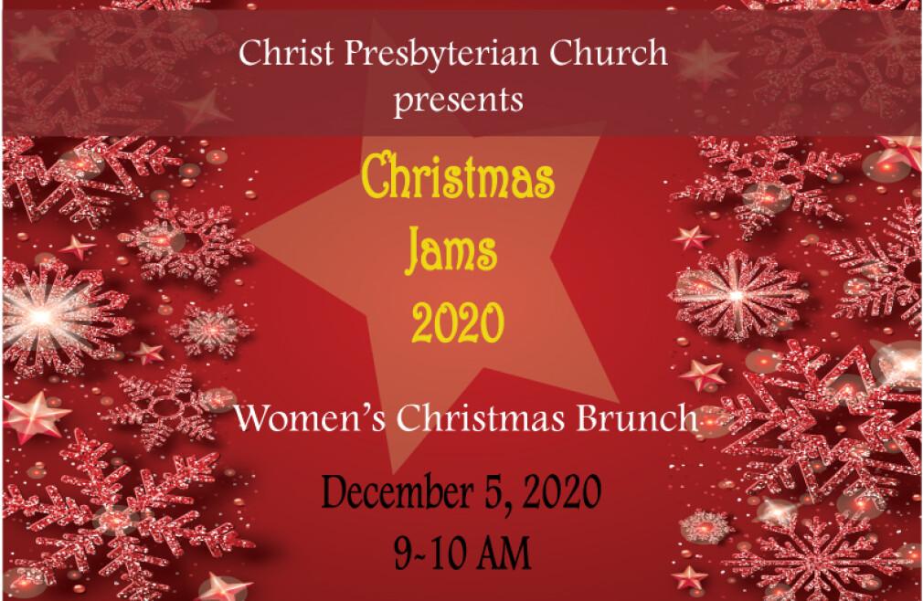 Christmas Jams 2020 - Women's Brunch